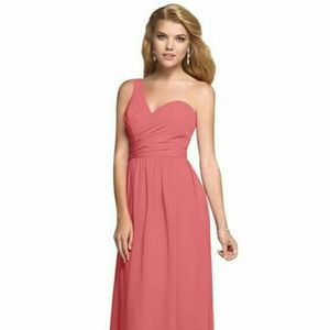 Alfred Angelo Coral Bridesmaids Dress
